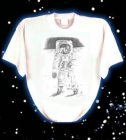 T-shirt Espacial �Moon Walker�